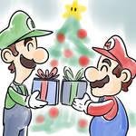 Mario and Luigi Christmas Time