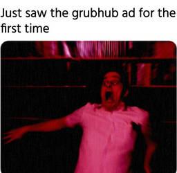 GrubHub Ad Meme