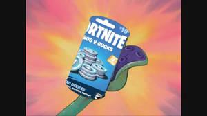 Canned 19 Dollar Fortnite Card
