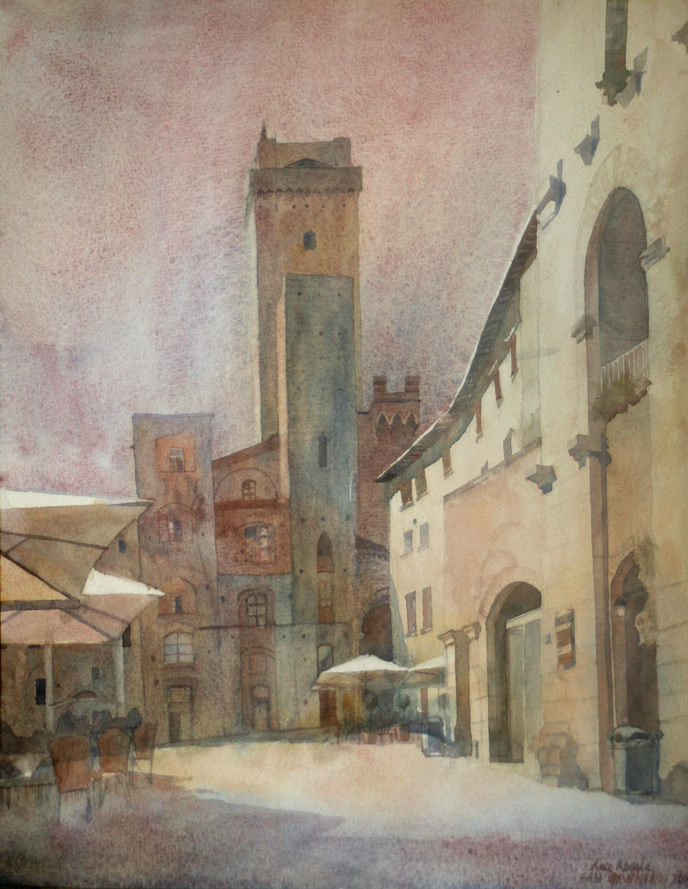 San Giminiano by yelou