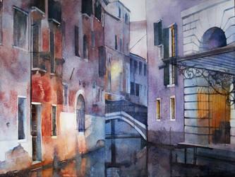 Violet Venice by yelou