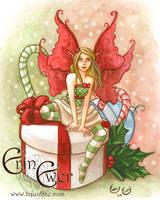 Christmas Fairy by LiquidFaeStudios