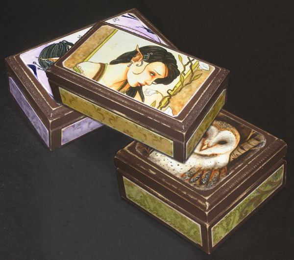 keepsake Boxes by LiquidFaeStudios