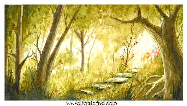 Pathway by LiquidFaeStudios