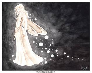 Shedding Starlight by LiquidFaeStudios