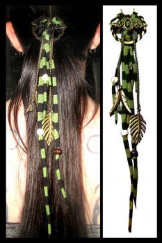 Hair pin stripes