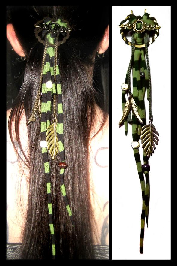 Hair pin stripes by LiquidFaeStudios