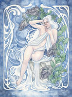Lady Winter by LiquidFaeStudios
