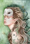 Owl Maiden by LiquidFaeStudios