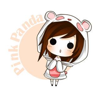 pink panda by nasikepal d4fe47i