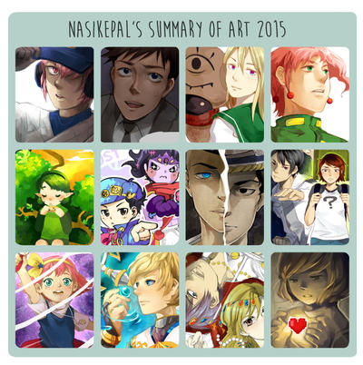Summary of Art 2015! by nasikepal