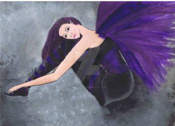 Purple faerie