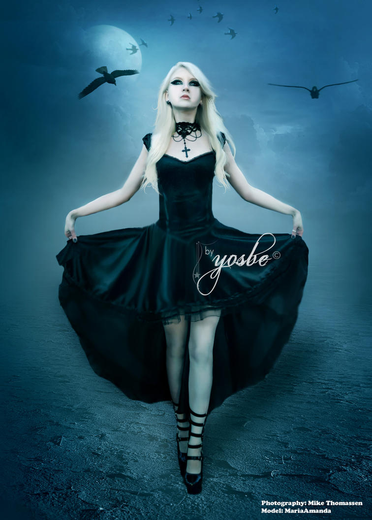Crow Queen by Yosbe
