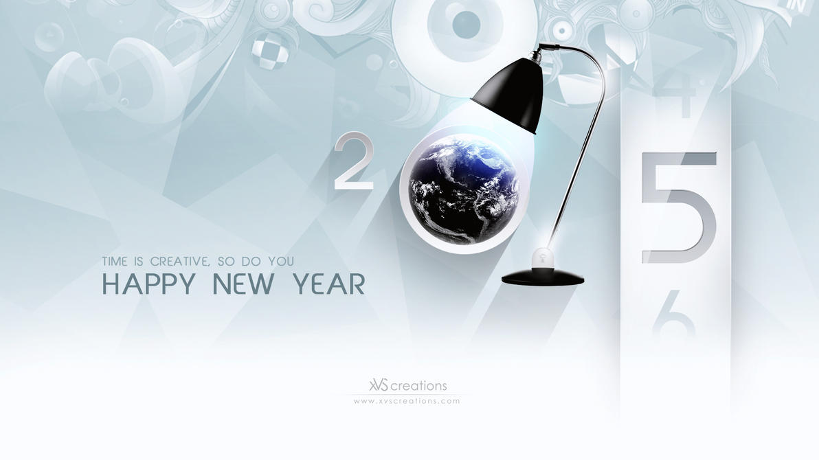 Happy New Year  2015 by xvsvinay