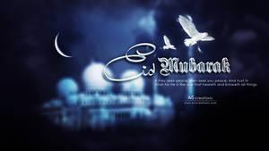Eid mubarak by xvsvinay