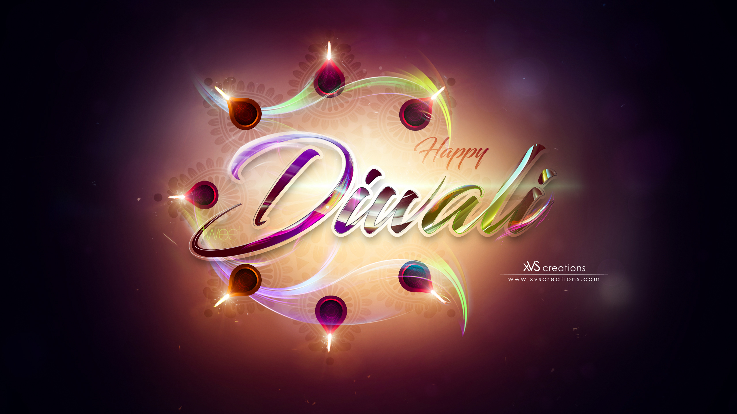 Happy Diwali by xvsvinay