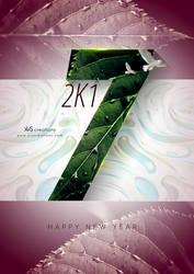 Happ New Year 2017 by xvsvinay