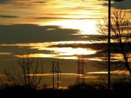 2012-02-22 Sunset by charliemarlowe