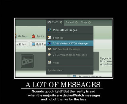 A lot of messages