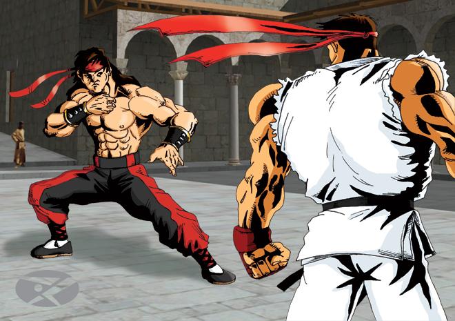 liu_kang_vs_ryu_by_xedpheniah.jpg