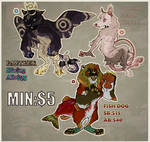 ADOPTABLES AUCTION - CLOSED