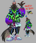 DEMON WOLF ADOPTABLE - AUCTION - CLOSED