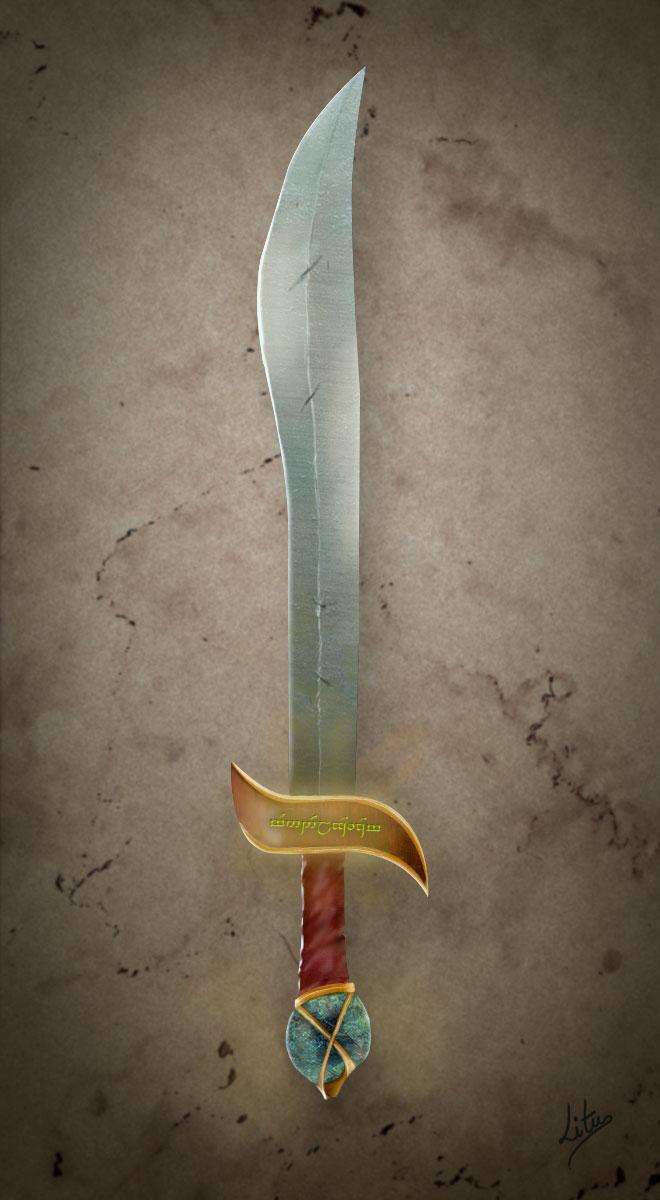 Wood elf sword by litucode