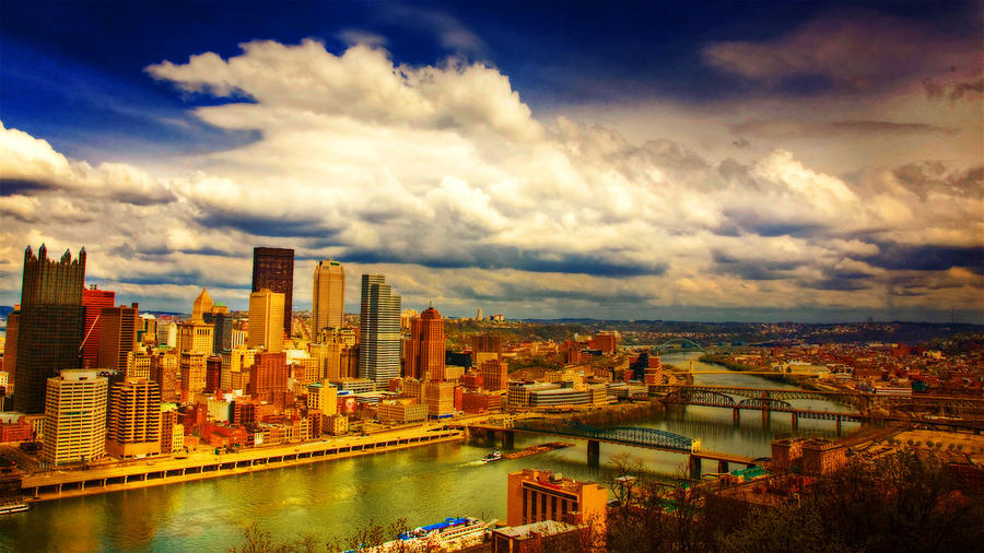 Pittsburgh Scene by brumie