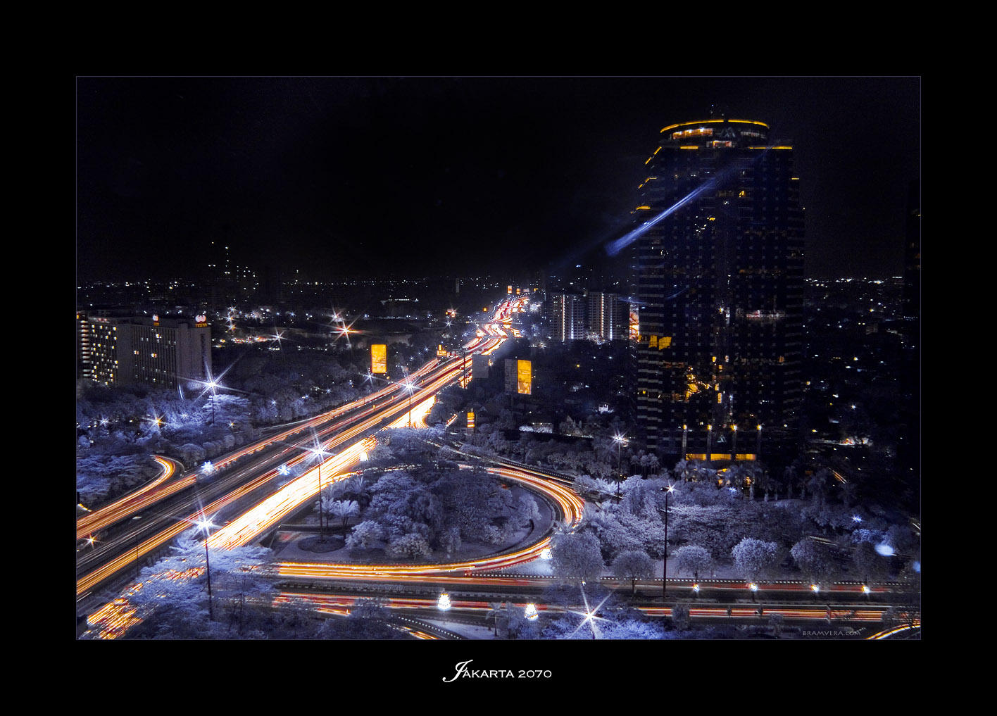 INFRARED: Jakarta 2070 by brumie