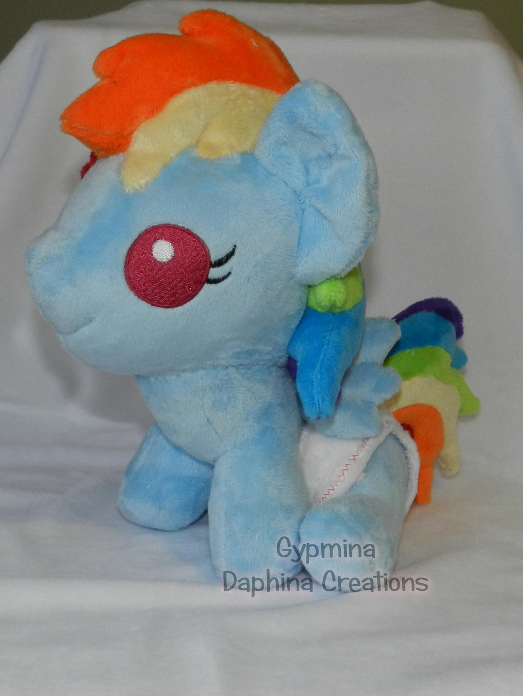 Baby Rainbow Dash Commission by Gypmina