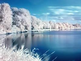 Calm River by Kik-un-riz