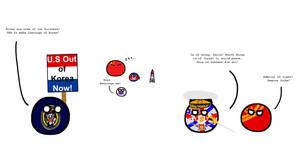 Polandball - US out of Korea...?