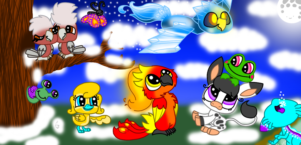 Lps Christmas Snow by bumbleboo12 on DeviantArt
