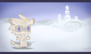Wings Of Fire: Cube Chibi Narwhal