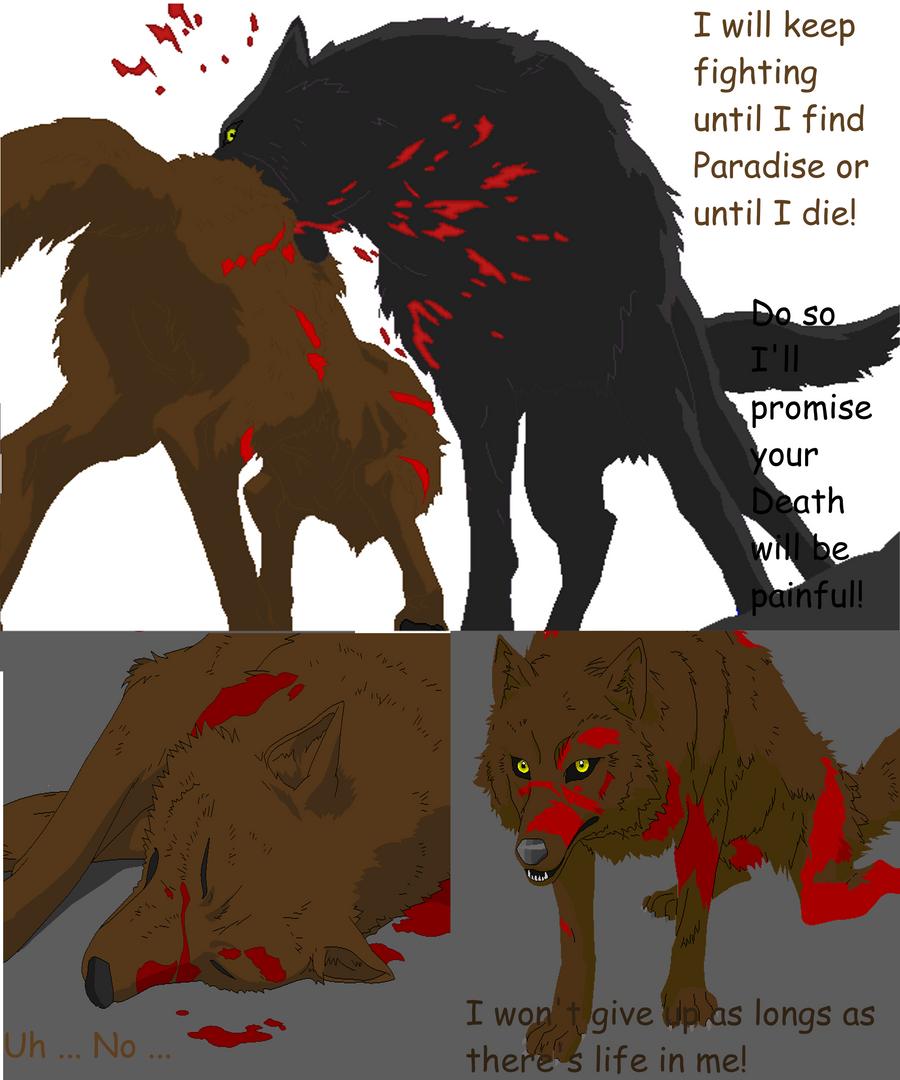 Wolfs Rain Comic Idea 3 Pages By Isajoi