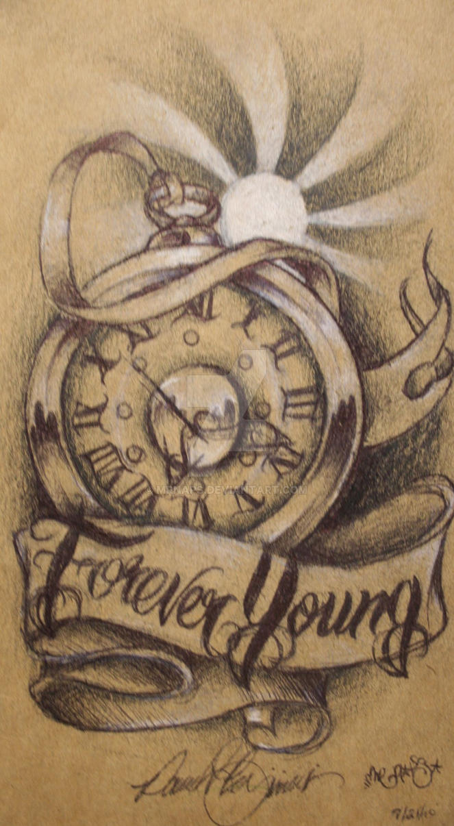 Forever young by mrnaps on deviantart for Forever young in japanese tattoo