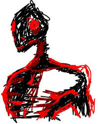 Lizard Man by Firelight-00