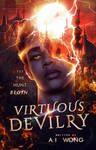 Wattpad Cover Contest Entry #2-Virtuous Devilry