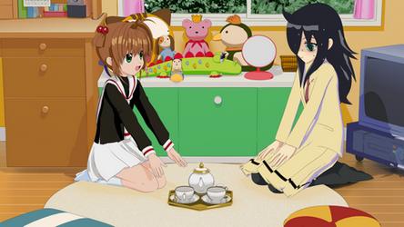 Sakura and Tomoko