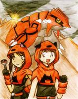Team Magma Grunts by yoshiky