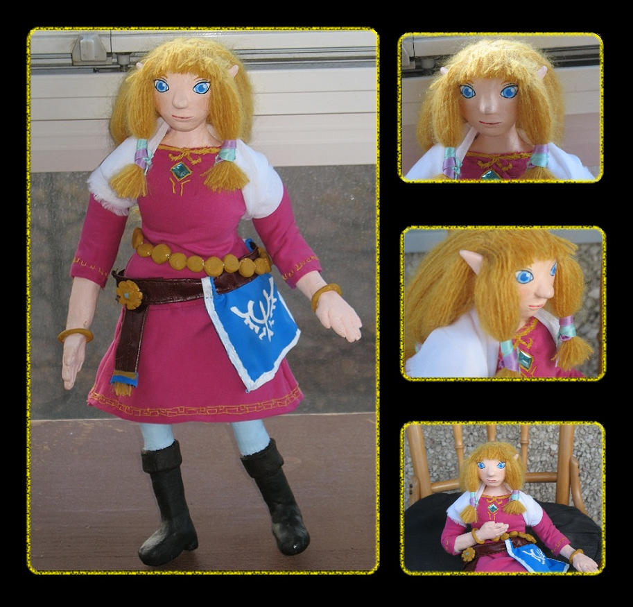 Zelda Doll - Artcrossing gift by Break-Mimosa