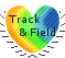 I love Track and Field stamp by Miahii