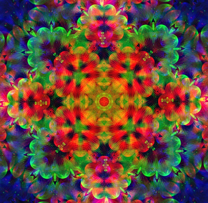 Kaleidoscope124 by Mariagat