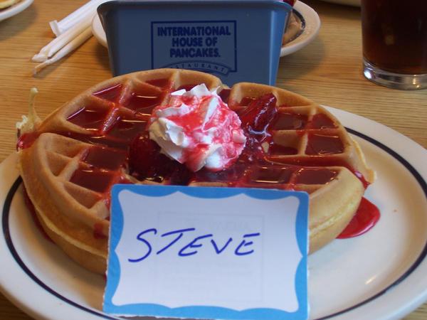 Steve The Waffle by SteveTheWaffle