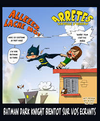 Batman dark knight -alg- by OniIfez