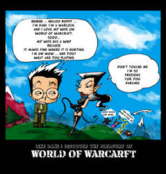 Come to World of Warcraft by OniIfez