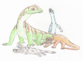 Squamoids by Biofauna25