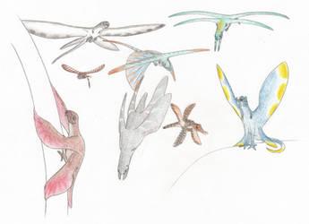 Pinnipterids by Biofauna25