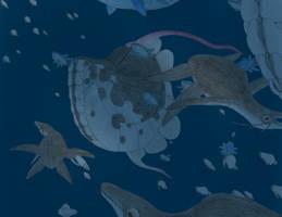 Vertical Migrators by Biofauna25