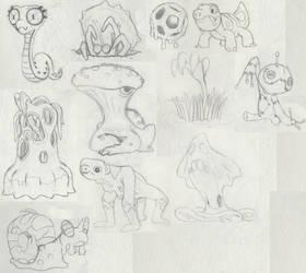 Sketchemon